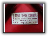 ROYAL DEPTH CONTROL #104